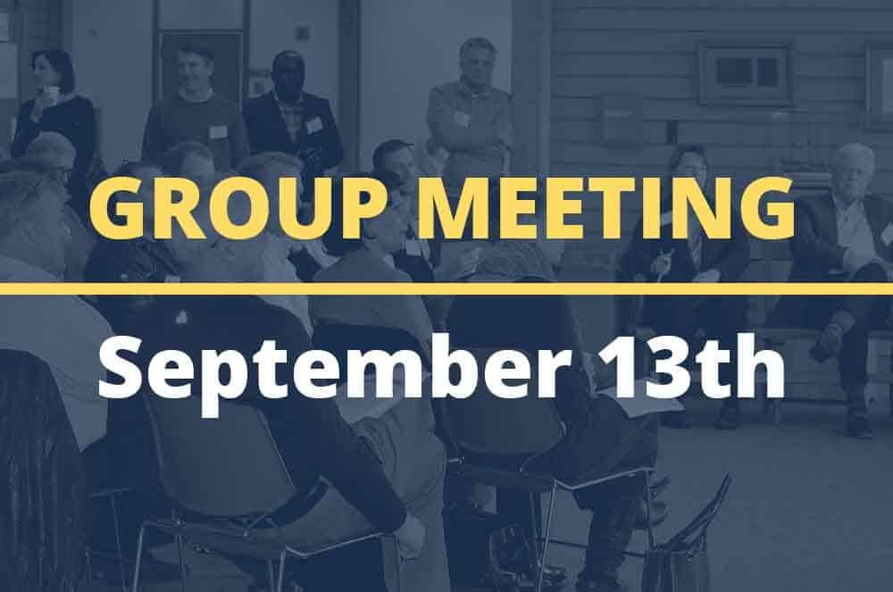 September 13, 2016 – Group Meeting