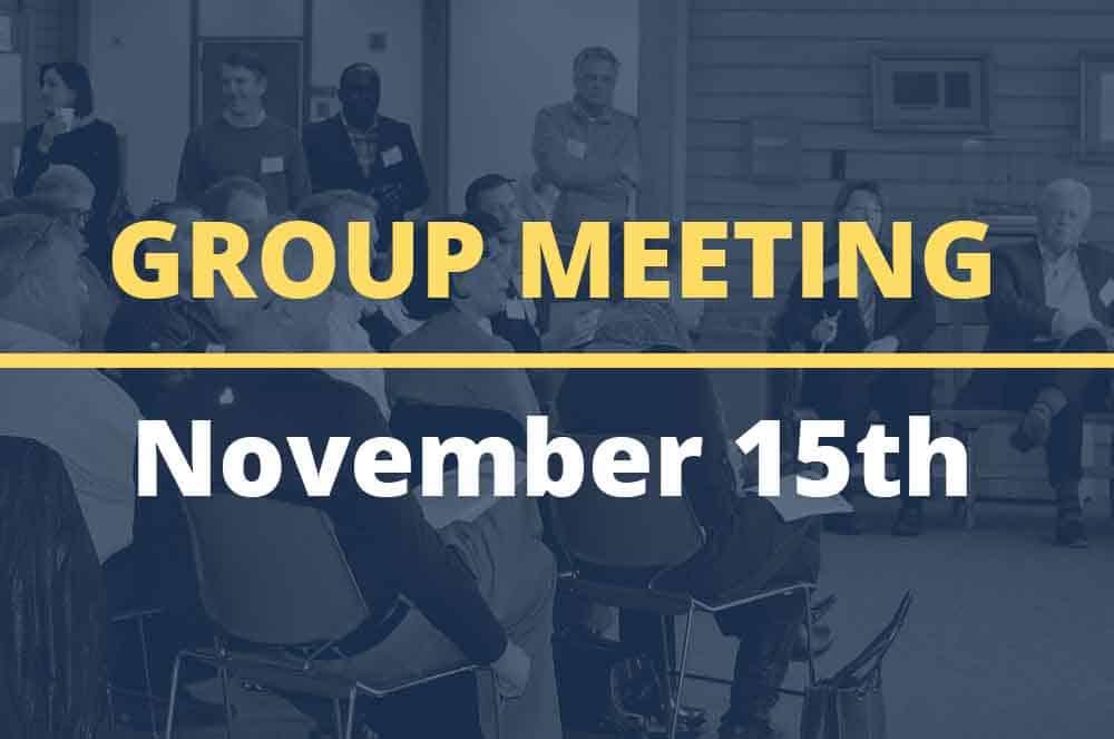 November 15, 2016 – Group Meeting