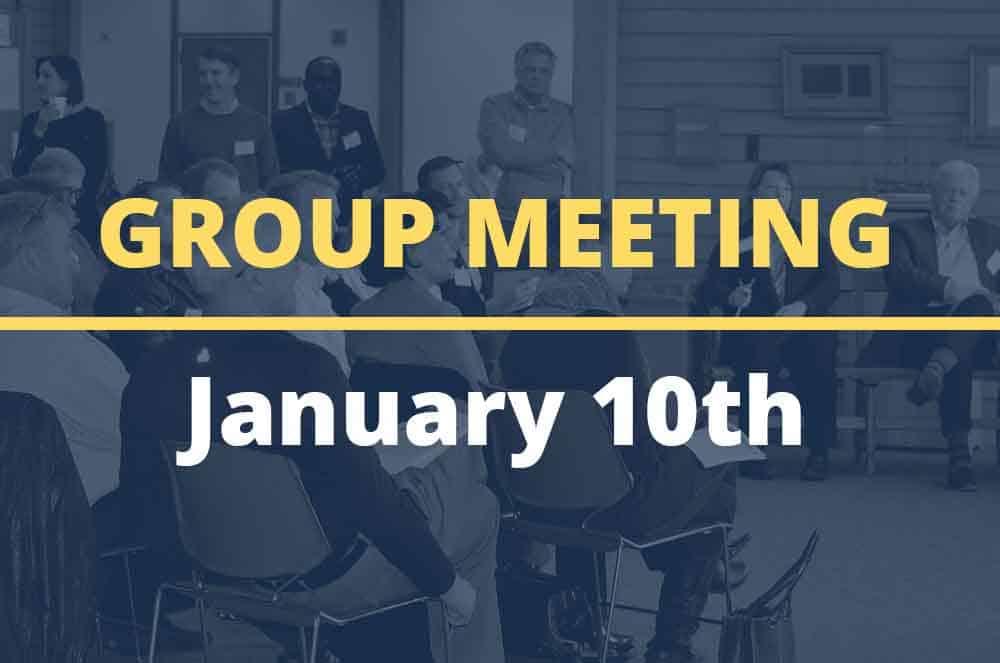 January 10, 2017 – Group Meeting