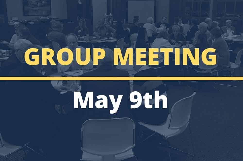 May 9, 2017 – Group Meeting