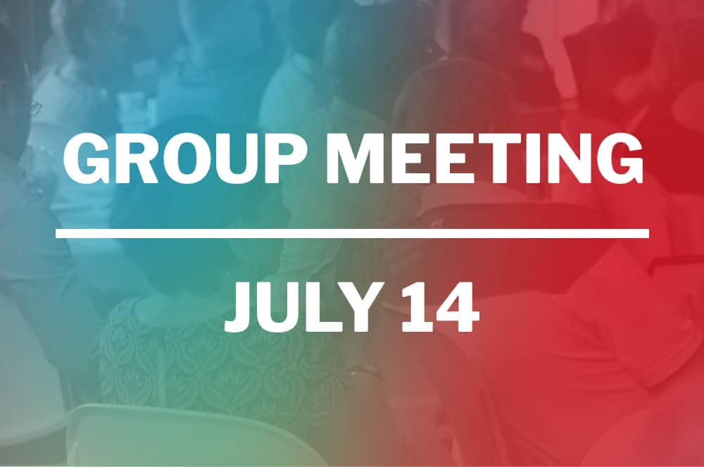 July 14, 2020 – VIRTUAL Meeting – TURN UP YOUR IMPACT