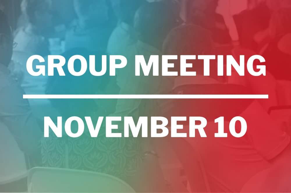 November 10, 2020 – VIRTUAL Meeting